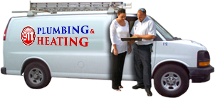 911 Plumbing Heating & Drainage Truck
